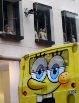 Wide eyed bus